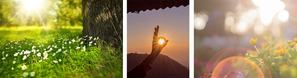قضاء الوقت في الطبيعة والتعرض لأشعة الشمس