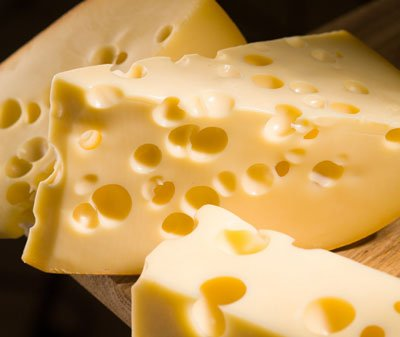 الجبنة صحية الجبن السويسري