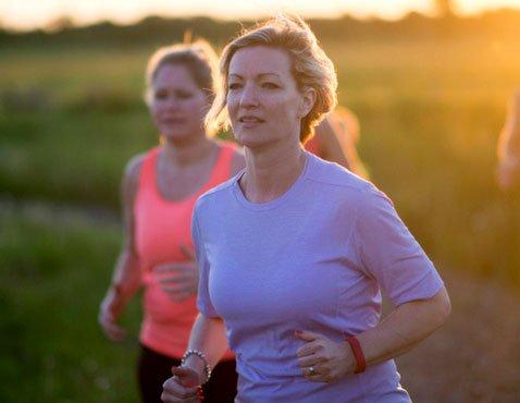 الرياضة في منتصف العمر للنساء