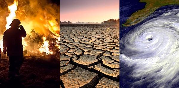 كوارث المناخ