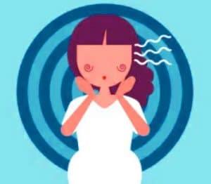 أعراض-الحمل-المبكرة-الدوار-الدوخة
