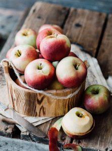 تفاح-مقشور
