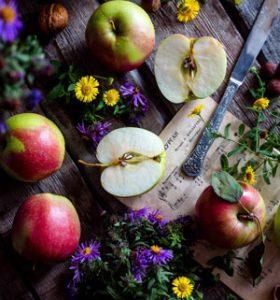 التفاح-مقطع-ومرض-السكري