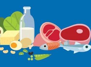 تناول-البروتين-قبل-النوم-